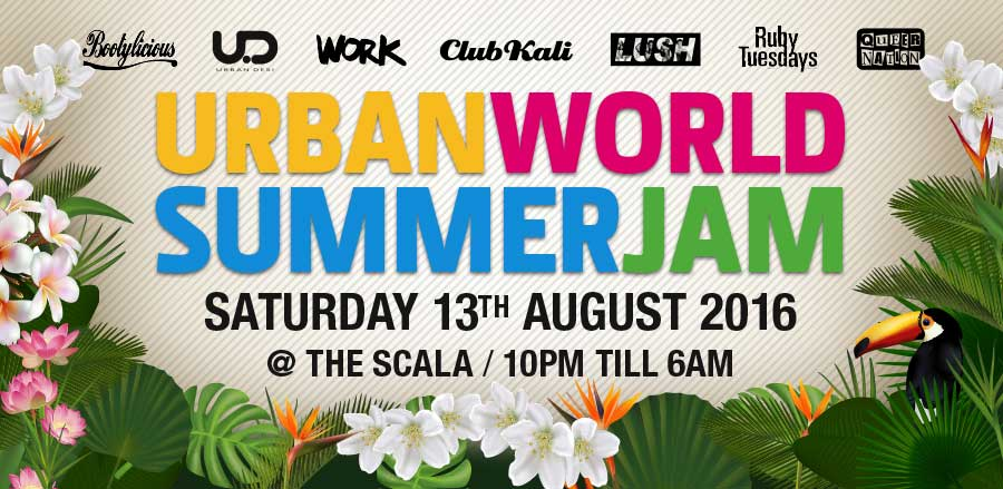 URBAN WORLD SUMMER JAM 2016