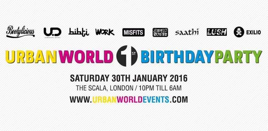 Urban World 1st Birthday Party