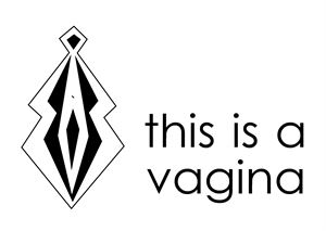 This is a Vagina  logo