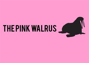 The Pink Walrus  logo