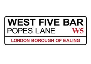 West 5 Bar  logo