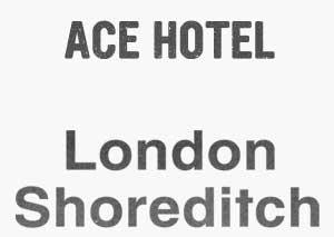 ACE Hotel Shoreditch  logo
