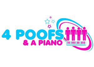 4 Poofs and a Piano  logo