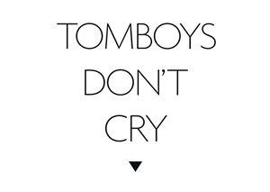 Tomboys Don't Cry  logo