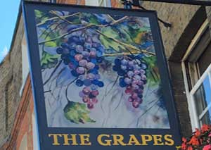 The Grapes   logo