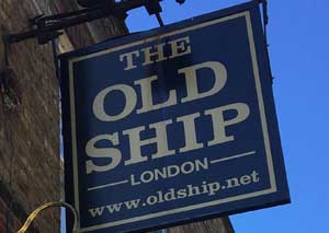 The Old Ship (Limehouse)  logo