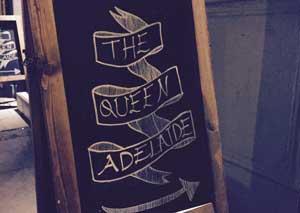 The Queen Adelaide  logo