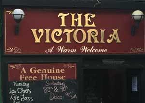 The Victoria   logo