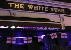 The White Swan  logo