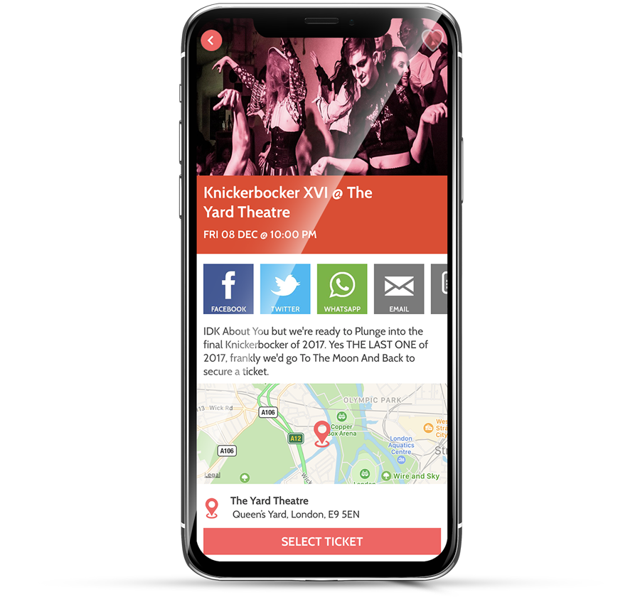 Promote your event on OutSavvy