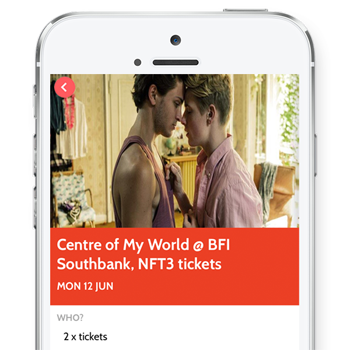 Download your event tickets onto the OutSavvy app