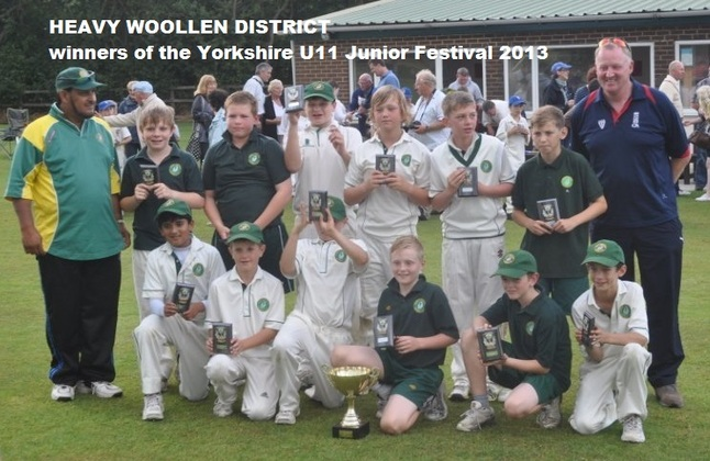 HWDJCL_winners_U11_Yorkshire_Junior_Cricket_Festival_2013