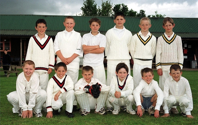 First Exeter St James CC U12 Team - 2000
