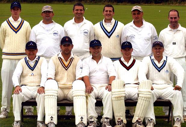 Exeter St James 1st XI - 2002