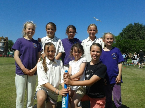 n.U11_Girls_who_won_Festival_at_Paignton_-_9_June__2013