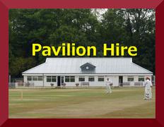 Pavilion Hire