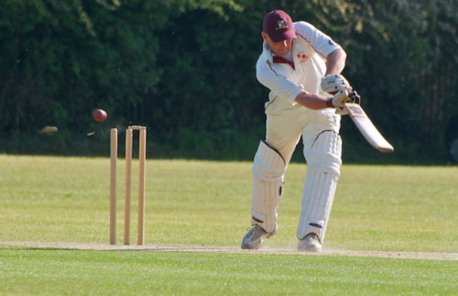Farnham Common's 1st XI skipper Matt Brown