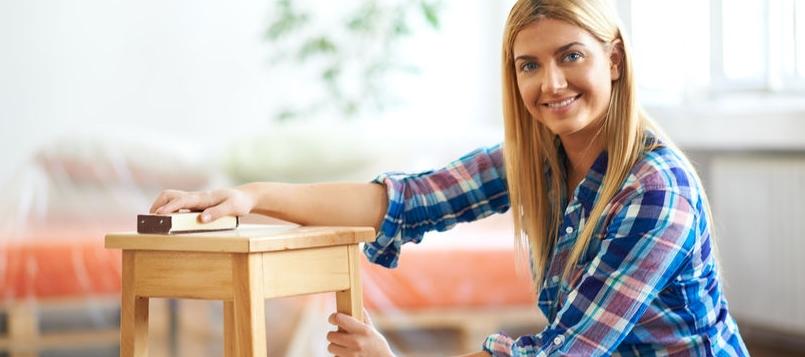 Es entretenido la carpintería de madera