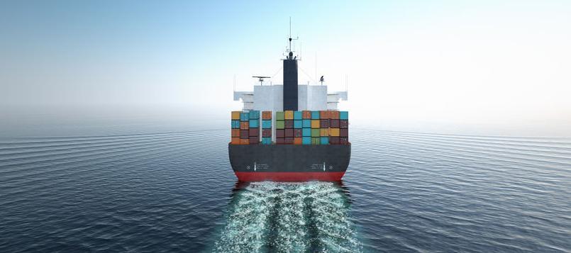 Los grandes barcos transportan mudanzas internacionales