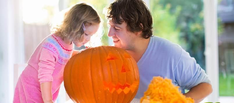 Disfruta de Halloween con niños