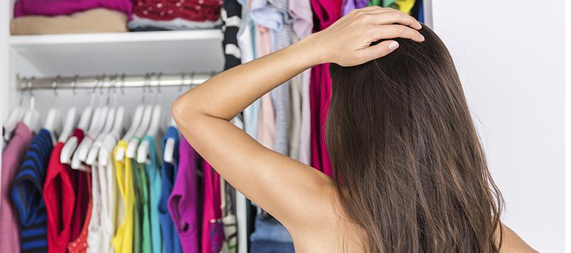 El cambio de armario puede ser un verdadero quebradero de cabeza