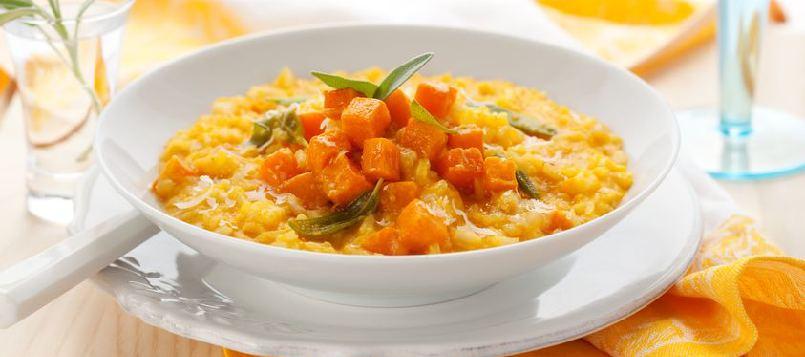Un arroz con calabaza es una de las mejores recetas vegatarianas