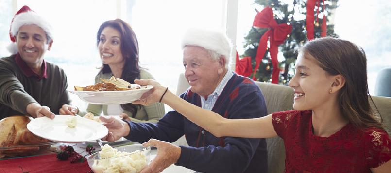 Cómo evitar engordar en navidades