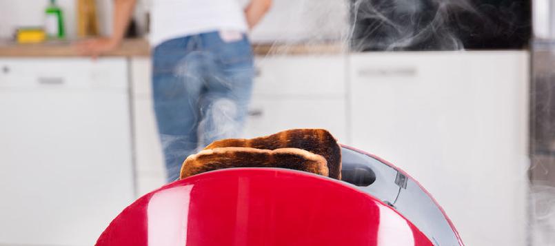 debes tener cuidado con el pan tostado de por las mañanas