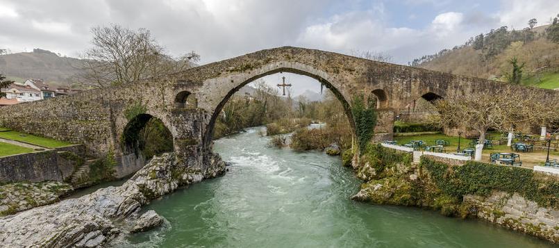 Cangas de onís puede ser un o de los destinos para el puente de diciembre