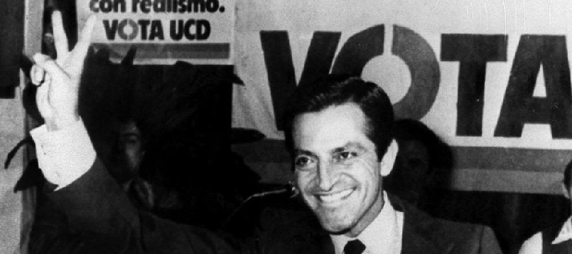 Adolfo Suarez fue uno de los que aprobó la Constitución española