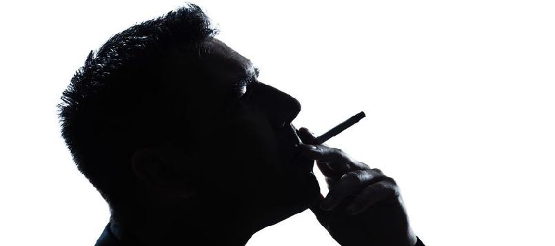 Los pulmones de un fumador no son sanos