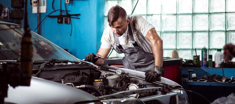 Preguntas taller mecánico