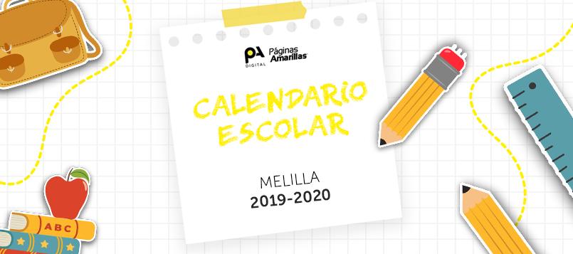 Calendario escolar Melilla