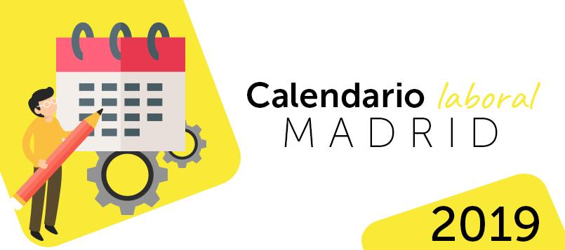 Calendario laboral en 2019