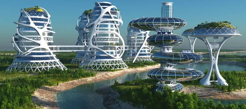Las ciudades del futuro serán más sostenibles y ecológicas.