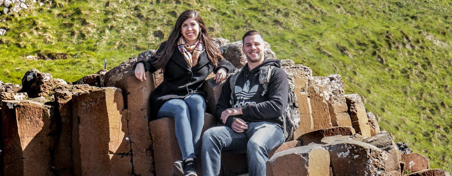 Giant's Causeway Tagesfahrt für Kleingruppen ab Dublin