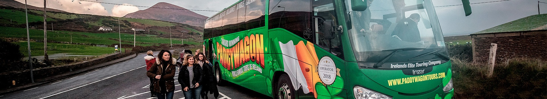 Discover Paddywagon Tours