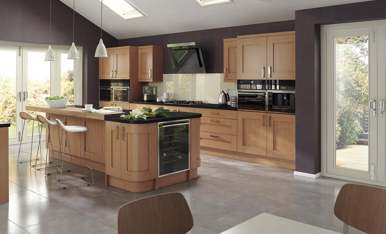 WINDSOR shaker oak - Panelven Kitchens