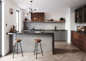 Cosden Modern Kitchen Handleless
