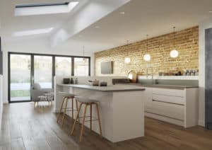 Cosden Kitchen Modern Handleless