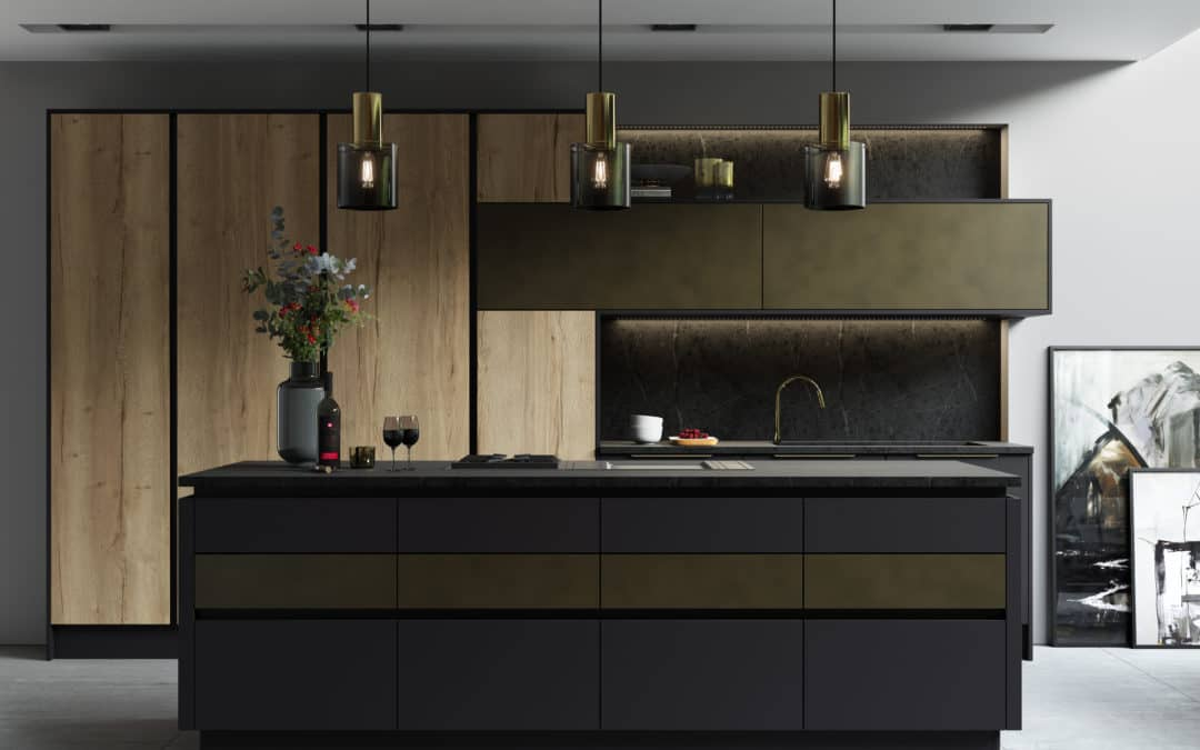 Cosdon Kitchen Modern Handleless