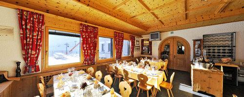 Stüvetta im Skigebiet Corviglia