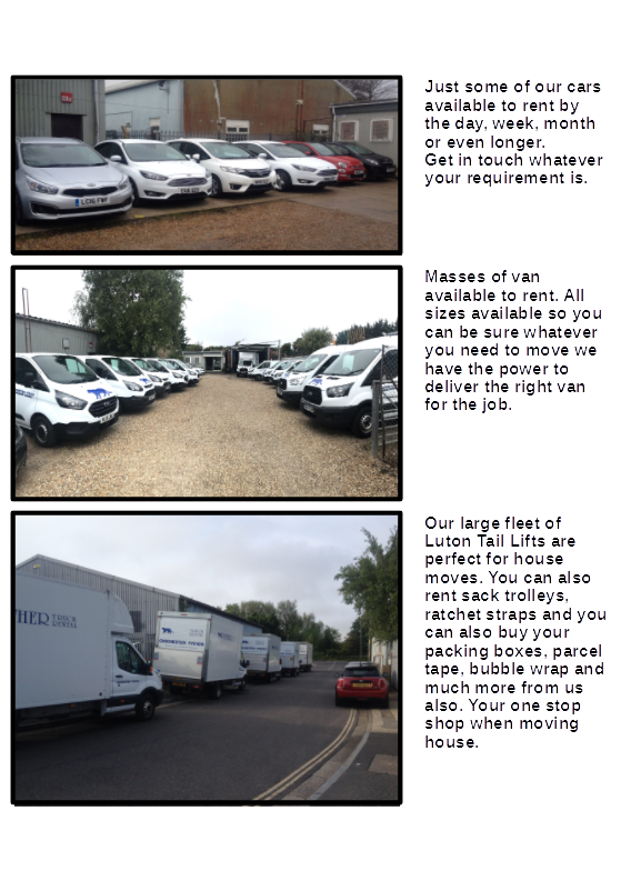 CHICHESTER BRANCH - The largest fleet in the area