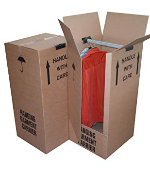Wardrobe box - Collect from office today or when collecting your van
