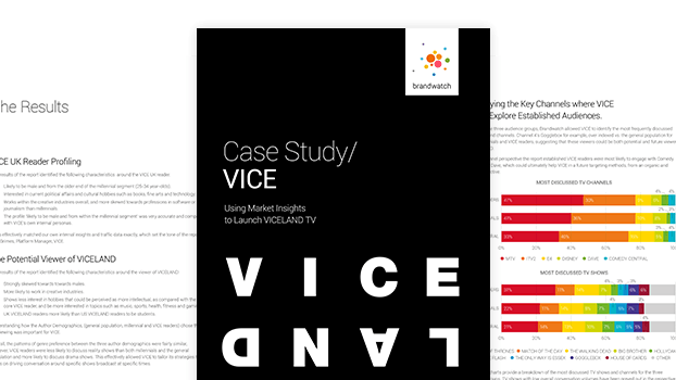 Download Report: How VICE used market insights to launch VICELAND TV