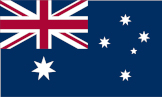 Australia flag - international shipping to Australia