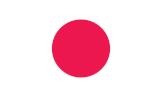 Japan flag - international shipping to Japan