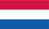 Netherlands flag - international shipping to the Netherlands