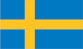 Sweden flag - international shipping to Sweden