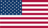 US flag - international shipping to the USA